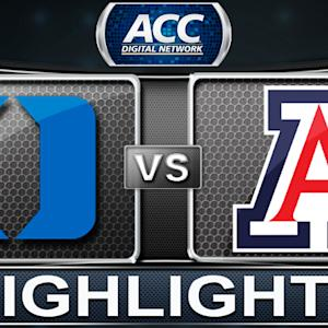 Duke vs Arizona | 2013 ACC Basketball Highlights
