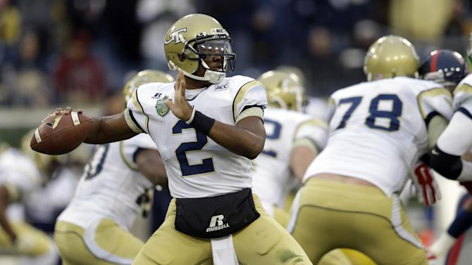Georgia Tech begins 2014 without starting QB