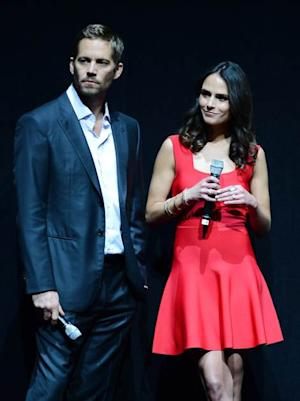 Paul Walker and Jordana Brewster attend a Universal Pictures presentation to promote their upcoming film 'Fast & Furious 6' at The Colosseum at Caesars Palace during CinemaCon, the official convention of the National Association of Theatre Owners, on April 16, 2013 in Las Vegas -- Getty Images