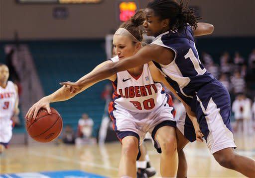 Liberty takes Big South women's title