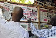 &lt;p&gt;Locals read newspapers in Bamako on the situation in the north. The UN Security Council called for an immediate ceasefire and return to democracy in Mali, prompting an announcement of an end to &quot;military operations&quot; by Tuareg rebels in the north.&lt;/p&gt;
