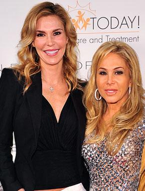 "Housewives' Adrienne Maloof: Brandi Glanville Is ""Like a Child"""
