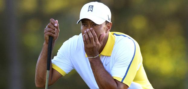Augusta National gives Tiger Woods two-shot penalty for bad drop
