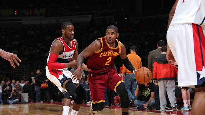 Waiters, Irving lead Cavaliers over Wizards