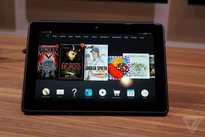 You can buy Amazon's Fire HDX 8.9 tablet for $299 today only