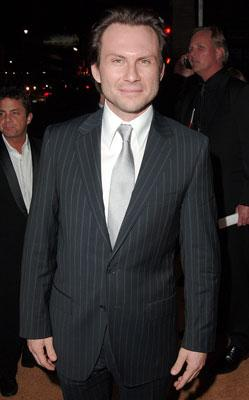 Christian Slater at the Hollywood premiere of MGM's Rocky Balboa