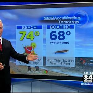 WBZ AccuWeather Evening Forecast Aug. 29