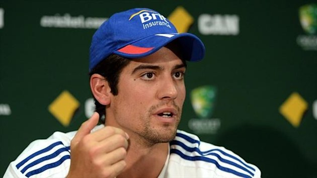 England captain Alastair Cook is targeting one of cricket's great comebacks.