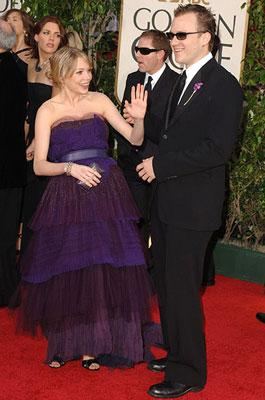 Michelle Williams and Heath Ledger 63rd Annual Golden Globe Awards - Arrivals Beverly Hills, CA - 1/16/05