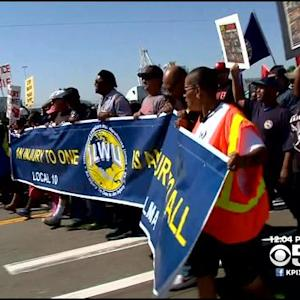 Oakland Demonstrators Rally Against Income Inequality, Police Brutality For May Day