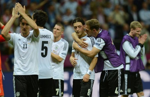 Germany showed plenty of potential …