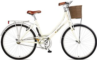 Viking single speed Dutch bike with basket