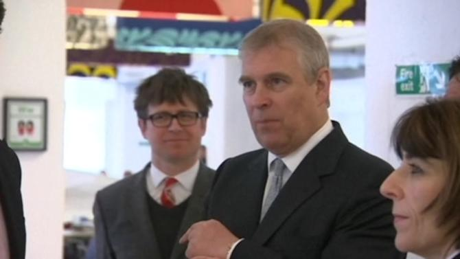 Prince Andrew accepts apology from police after being mistaken for trespasser