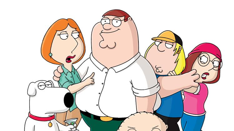 "The cast of ""The Family Guy"""