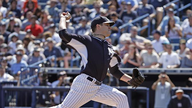 Phelps has strong start, Yanks and Rays tie 3-3
