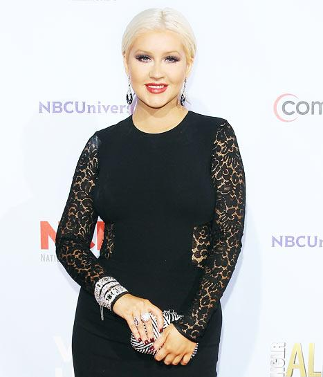 "Christina Aguilera: I Was Forced to Be ""Toothpick Thin"" in 2002"