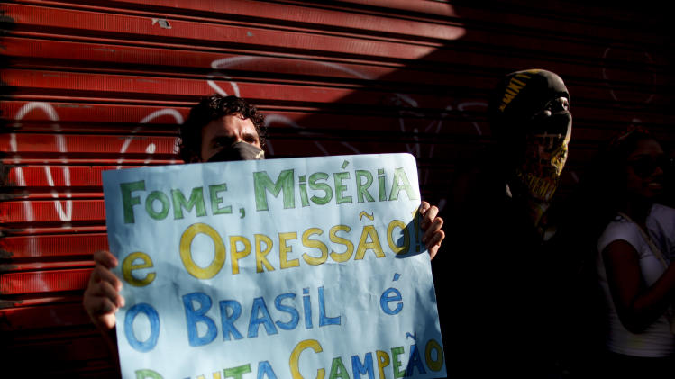 Brazil protesters struggle to define next steps