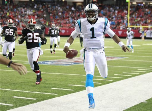 Falcons go to 4-0 with 30-28 win over Panthers