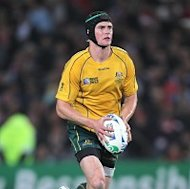 Berrick Barnes kicked the winning penalty for Australia in the 75th minute