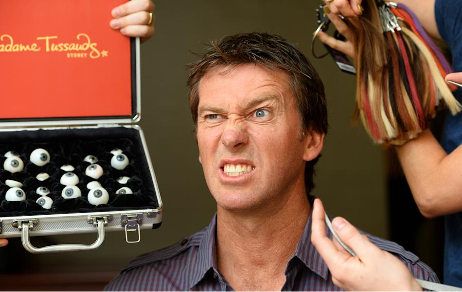 AUSTRALIA-OFFBEAT-MCGRATH-TUSSAUDS