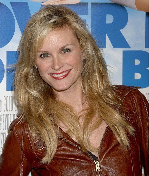 Bonnie Somerville arrives at &quot;Over Her Dead Body&quot; Los Angeles premiere. 