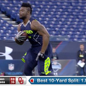 2014 Combine workout: Damien Williams
