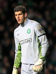Fraser Forster excelled for Celtic in goal against Benfica on Wednesday night