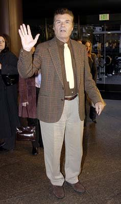 Fred Willard at the Hollywood premiere of Warner Bros. A Mighty Wind