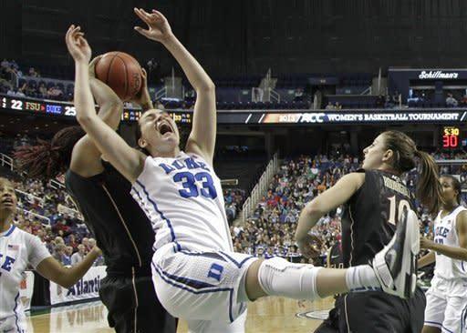 No. 6 Duke beats No. 23 FSU 72-66 in ACC semifinal