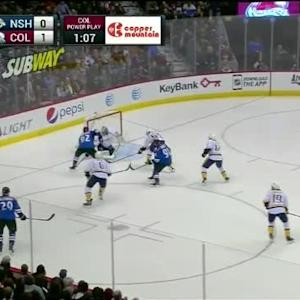 Marek Mazanec Save on Gabriel Landeskog (04:44/3rd)
