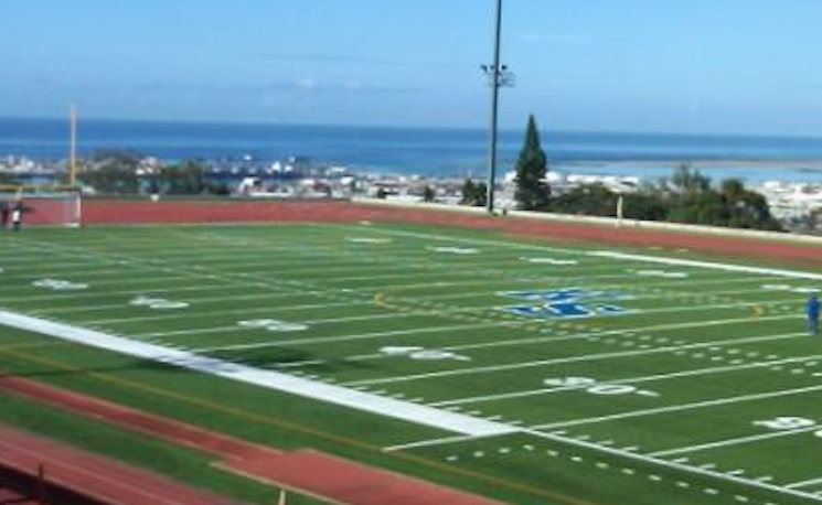 Kuniakea Field at Kamehameha School is quite spectacular — Domo Sports Grass