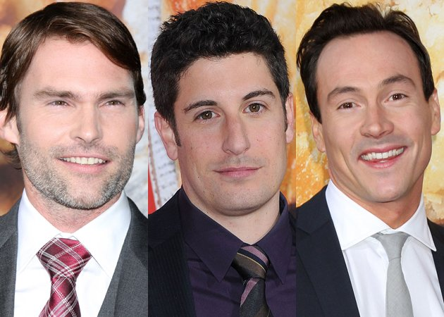 Seann William Scott, Chris Klein, Eddie Kaye Thomas and Jason Biggs