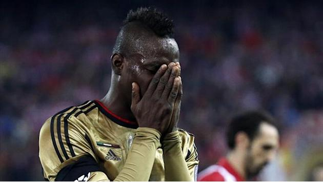 Serie A - Seedorf 'drops Balotelli after Champions League elimination