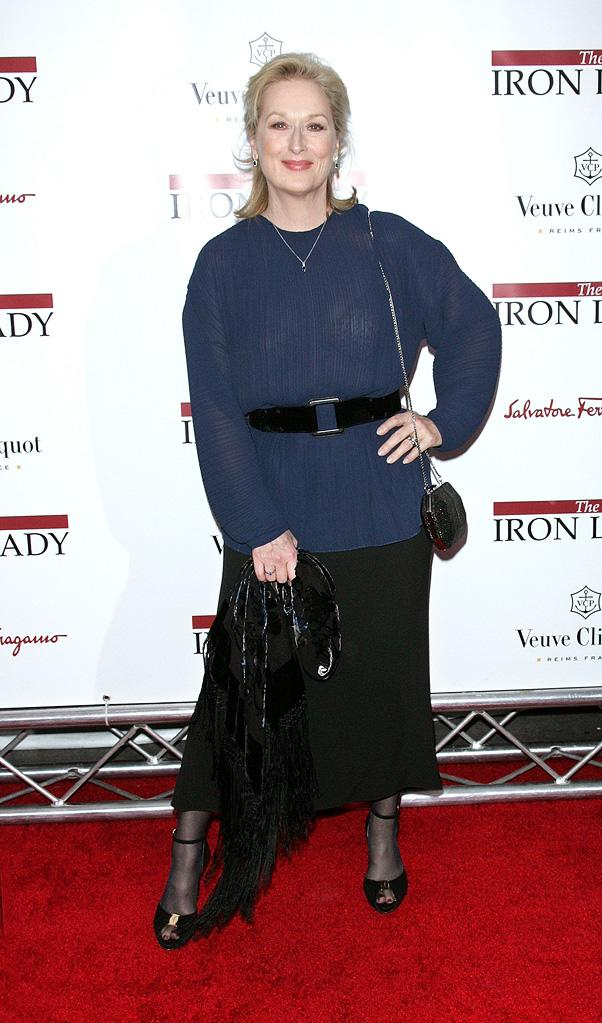 The Iron Lady NY Premiere 2011 Meryl Streep