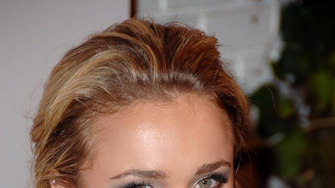 Hayden Panettiere arrives at the GQ 2007 Men Of The Year celebration at Chateau Marmont.