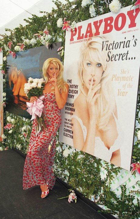 Victoria Silvstedt en Playboy 1997