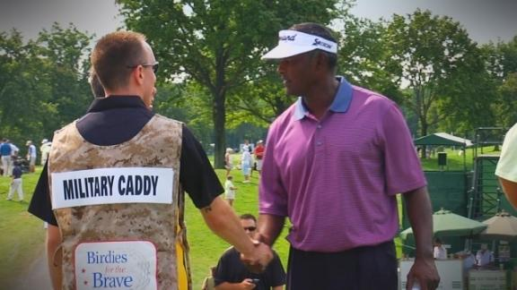 PGA TOUR Players support troops