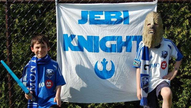 #MayThe4thBeWithYou: The Jebi Knights, the only MLS supporters group based on a Star Wars theme