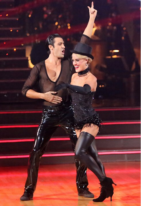 Gilles Marini and Peta Murgatroyd (10/29/12)