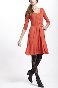 Anthropologie Dress and tights
