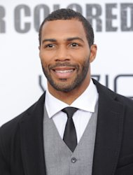 "FILE - This Oct. 25, 2010 file photo shows actor Omari Hardwick attending a special screening of ""For Colored Girls"" at the Ziegfeld Theatre in New York. (AP Photo/Evan Agostini, file)"