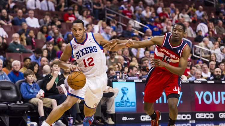 NBA: Washington Wizards at Philadelphia 76ers