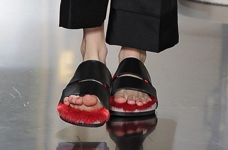 Celine Flip Flops