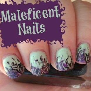 Boo! Spooky nails are the perfect addition to your Halloween costume.