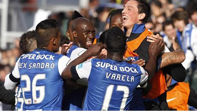 Portuguese SuperLiga - Porto claim 27th title with win at Pacos de Ferreira