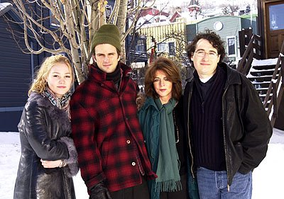 Julia Stiles, Fred Weller, Stockard Channing and Patrick Stettner of The Business of Strangers Sundance Film Festival Day 2 Park City, Utah 1/19/2001