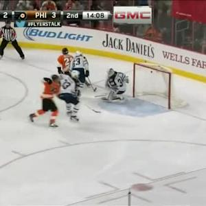 Michael Hutchinson Save on Claude Giroux (05:53/2nd)