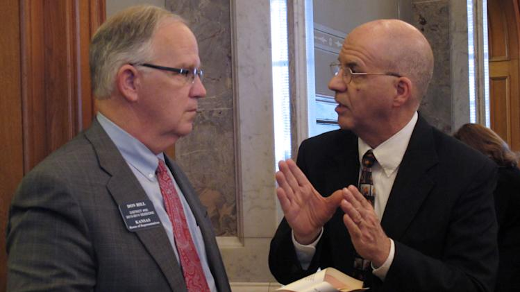 Kansas House advances $14B state budget