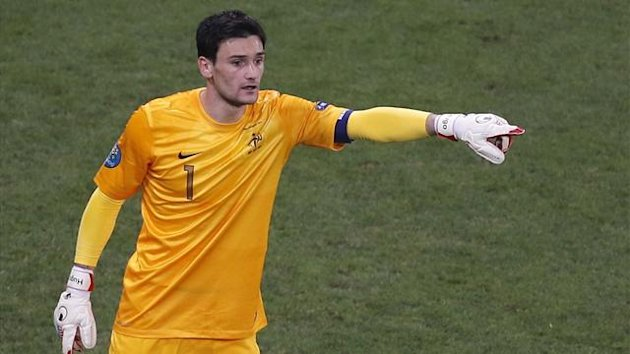Hugo Lloris was France's number one at Euro 2012 (Reuters)