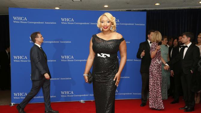 Food Networks' Chef Huda arrives for the annual White House Correspondents' Association dinner in Washington